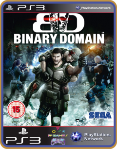 Ps3 Binary Domain - Midia Digital