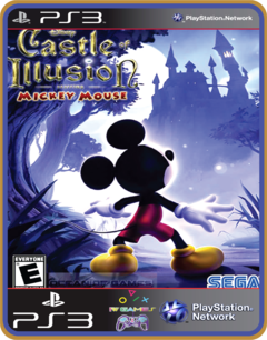 Ps3 Castle Of Illusion Starring Mickey Mouse - Midia Digital - comprar online
