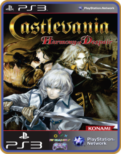 Ps3 Castlevania Harmony Of Despair - Mídia Digital