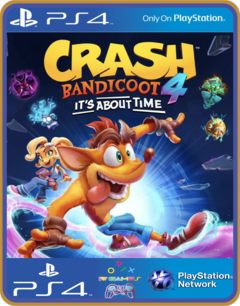 PS4 Crash Bandicoot 4 It's About Time ORIGINAL MIDIA DIGITAL