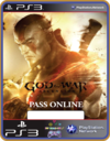 Ps3 God Of War Ascension Online Pass -  Midia Digital