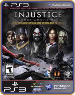 Ps3 Injustice Gods Among Us Ultimate Edition  | Português