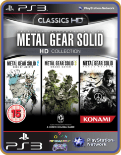 Ps3 Metal Gear Solid Hd Collection | Mídia Digital - comprar online