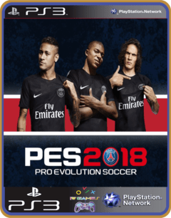 Ps3 Pes 2018 Mídia Digital Psn Original - comprar online