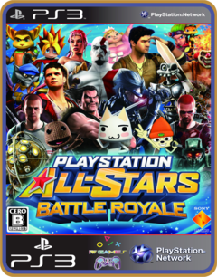 Ps3 Playstation All-stars Battle Royale -   Midia Digital