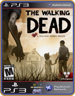 Ps3 The Walking Dead |  Mídia Digital - comprar online