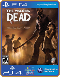 PS4 The Walking Dead Primeira Temporada Completa Psn Original 1 Mídia Digital