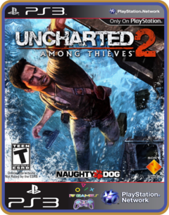 Ps3 Uncharted 2 Among Thieves Goty Edition
