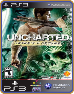 Ps3 Uncharted Drake's Fortune - Mídia Digital