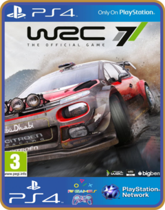 PS4 WRC 7 FIA World Rally Championship  - MIDIA DIGITAL ORIGINAL 1