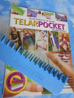 Telar Plástico  Pocket + Revista