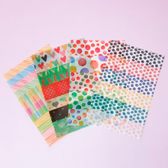 PAPER STICKER (KIT COM 4 UNIDADES)