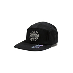 Gorra Kushmail 5 panels Patch Negro