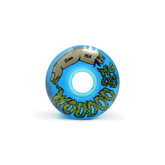 Ruedas Woodoo Mucus Blue Clear 53mm