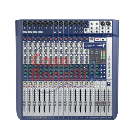 Mixer de 16 canales Soundcraft Signature 16
