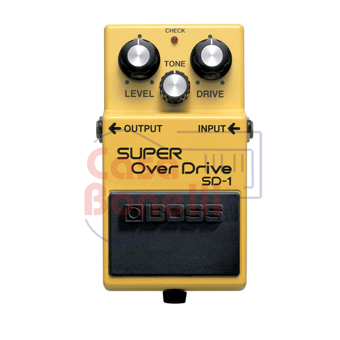 Pedal de Efecto Sustain Distorsion Boss SD1
