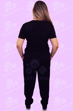 CALÇA DO SCRUB PLUS SIZE BASIC TWO WAY - Dottoressa Jalecos e Uniformes