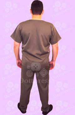 CALÇA DO SCRUB BASIC TWO WAY MASCULINO - Dottoressa Jalecos e Uniformes