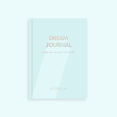 Diario Dream journal Celeste
