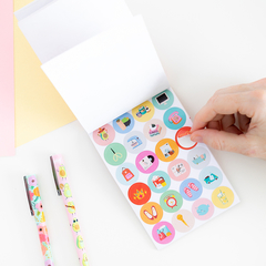 Libreta de stickers - Chichimamerry
