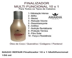 Finalizador 10 x 1 Magic Repair Multi Funcional - 150ml - comprar online