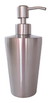 Dispenser de Acero Inoxidable Plateado Mate