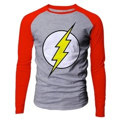 Camiseta masculina The Flash logo classico