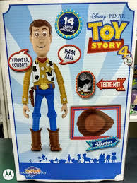 TOY STORY 4 - XERIFE  WOODY COM SOM TOY STORY 4 - TOYNG - comprar online
