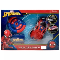 VEICULO WEB CRASHER - SPIDER MAN - CANDIDE