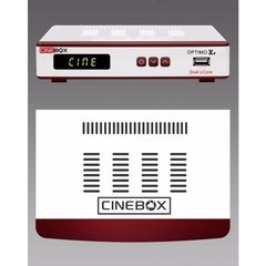 Receptor Cinebox Optimo X2 HD ACM com wifi com cabo av e hdmi - Ciadodeco