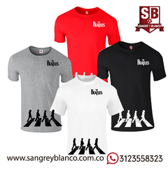 Camiseta Abbey Road - The Beatles