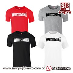Camiseta Wrestlemania