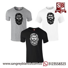 Camiseta Respect the Beard