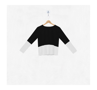 Remera Color Block