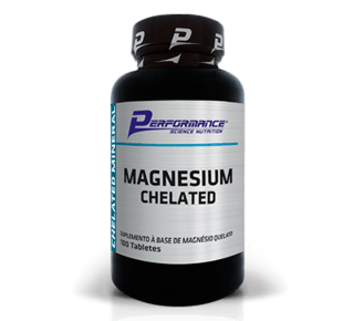 Magnesium Chelated - 100 Tabletes - Performance Nutrition