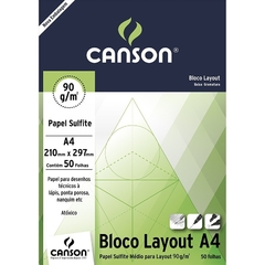 BLOCO LAYOUT 90 A4 I CANSON