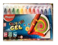 GIZ PASTEL GEL MAPED 12 CORES