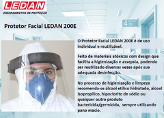 Protetor Facial Incolor 200mm 200E - Ledan