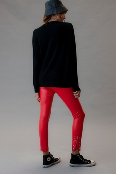 Leggings Santa Rita Red - IVANAW