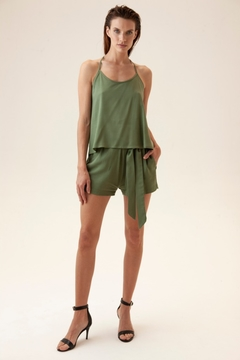Musculosa Saint Germain army