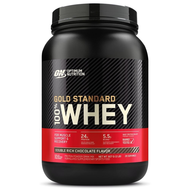 100% WHEY GOLD STANDARD 900G - OPTIMUM