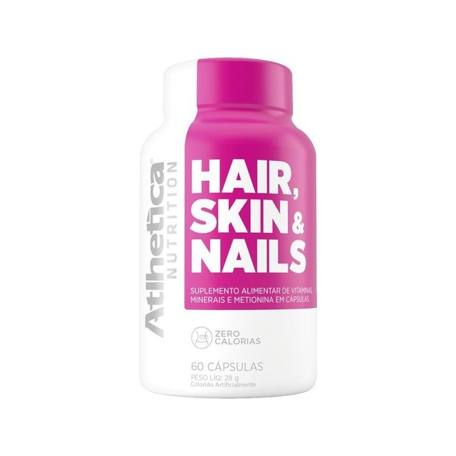 HAIR, SKIN & NAILS 60 CAPS - ATLHETICA