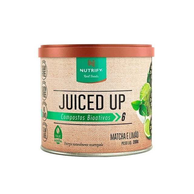 JUICED UP MATCHA 200G - NUTRIFY