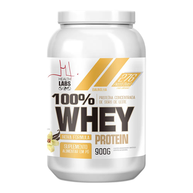 WHEY PROTEIN 900G - HEALTH LABS
