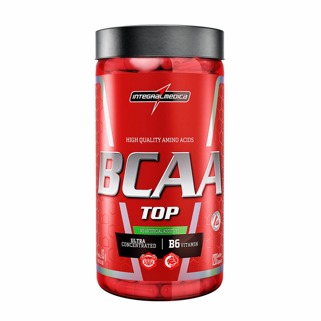 BCAA TOP 120 CAPS - INTEGRALMÉDICA