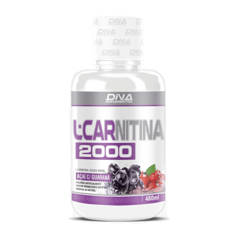 L-CARNITINA 2000MG 480ML - DNA