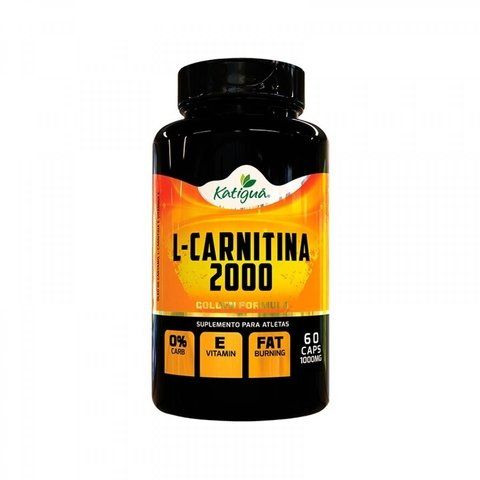 L-CARNITINA 2000 60 CAPS - KATIGUÁ