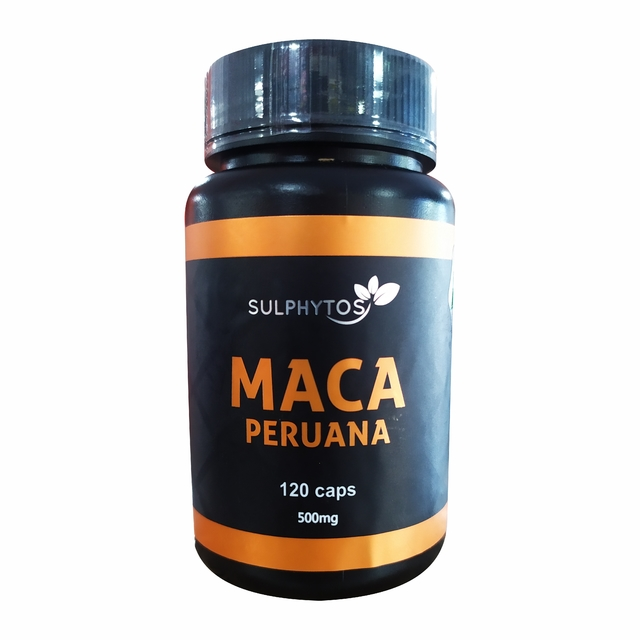 MACA PERUANA 500MG 120 CAPS - SULPHYTOS