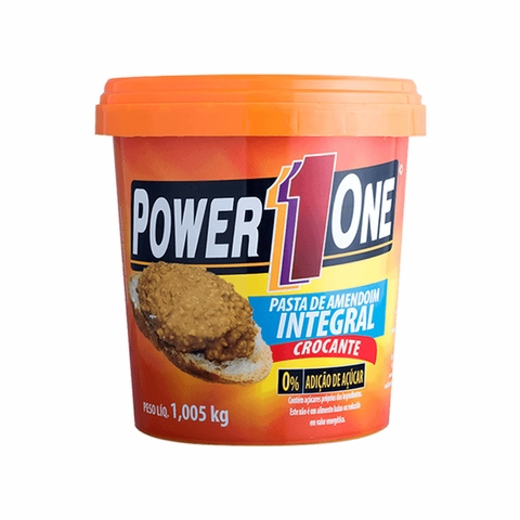 PASTA DE AMENDOIM INTEGRAL 1KG - POWER ONE - comprar online