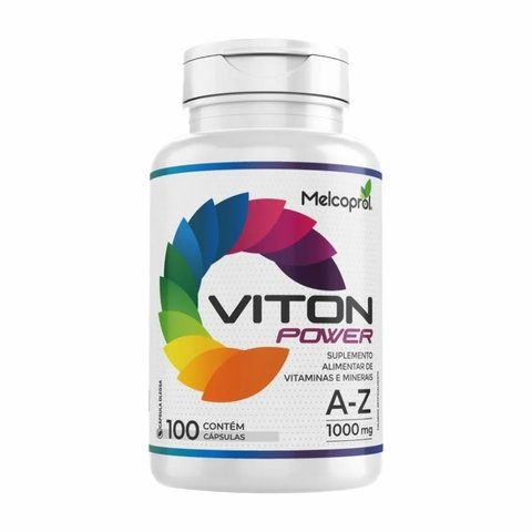 VITON POWER MULTIVITAMÍNICO 100 CAPS - MELCOPROL
